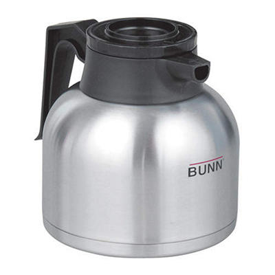 Bunn® 1.9 Liter Stainless Steel Thermal Carafe - Black Handle