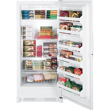 GE Upright Freezer - Manual Defrost - 20.6 cu. ft.