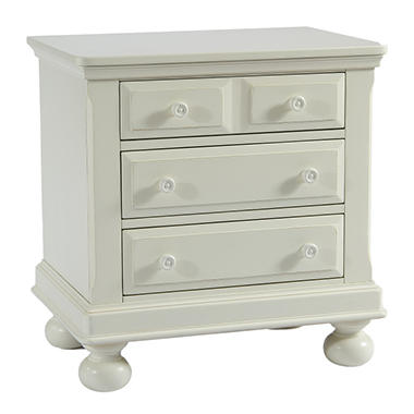 Hamilton Collection Nightstand - Rubbed White