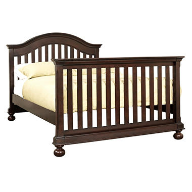Hamilton Collection Crib Bed Rail Converter Kit  - Espresso