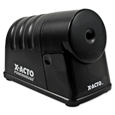 X-ACTO - PowerHouse Desktop Electric Pencil Sharpener - Black