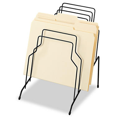 Fellowes - Step File, Eight Sections, Wire, 10 1/8