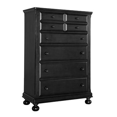Hamilton Collection 5 Drawer Chest - Antique Black