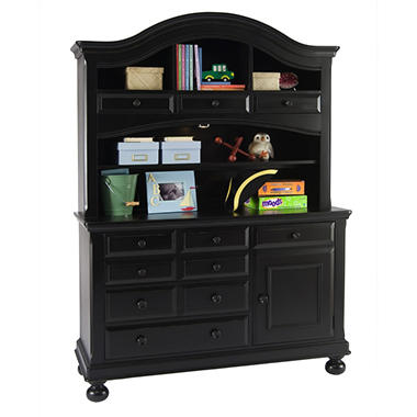 Hamilton Collection Combo Dresser - Antique Black