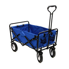 Blue Folding Wagon