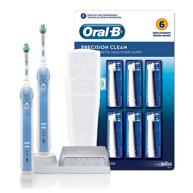 Oral-B Professional Care Electric Toothbrush Precision Clean Bundle