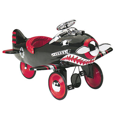Shark Attack Pedal Plane