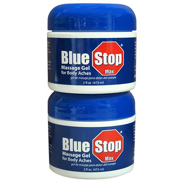 Blue Stop Max - Massage Gel - 2 oz. - 2 ct.