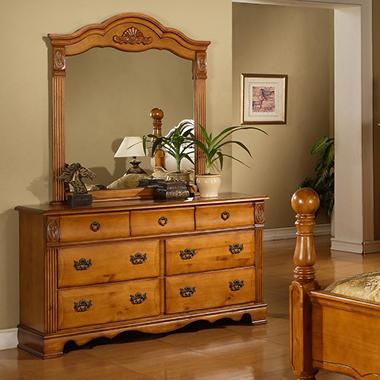Vivian Dresser and Mirror