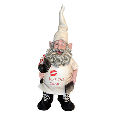 Kiss the Cook Gnome