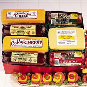 Burgers' Smokehouse Colossal Sausage & Cheese