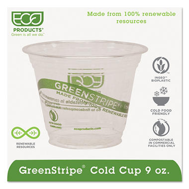 Eco-Products Compostable Cold Drink Cups - 9oz. - 1000 Cups