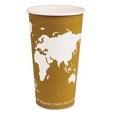 Eco-Products Hot Paper Cups, 20 oz. (1,000 ct.)