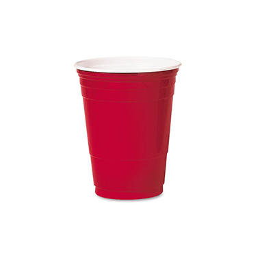 Solo Plastic Party Cold Drink Cups - 16 oz. - 1,000 cups