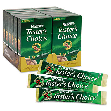 Nescafe® Taster's Choice® Decaffeinated Stick Packs - 72 count