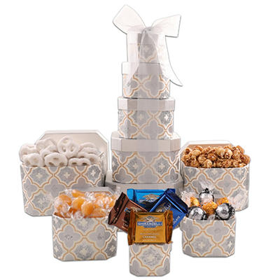 Alder Creek Golden Decadence Holiday Tower - Pallet of 95
