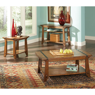 Hanson Living Room Table Set - 3 pc.