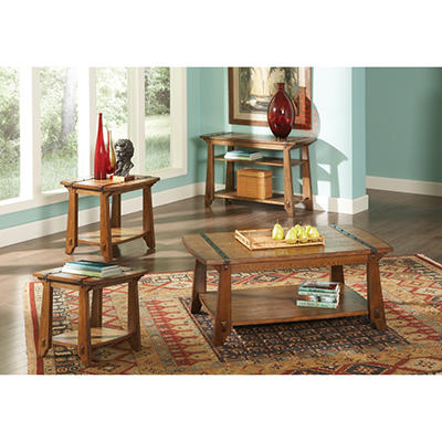 Hanson Living Room Table Set - 4 pc.