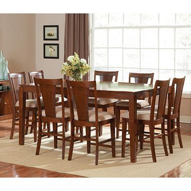 Davis Counter Height Dining Set - 9 pc..