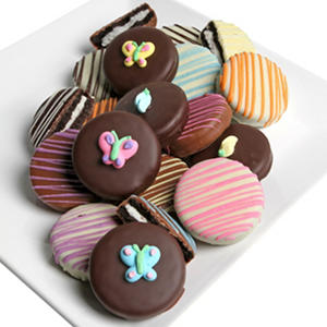 Spring Belgian Chocolate-Covered Oreo Cookies (12 pc.)
