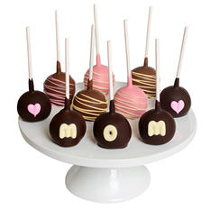 Mother's Day Chocolate-Dipped Cake Pops (10 pc.)