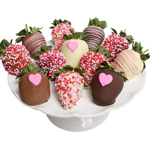Mother's Day Belgian Chocolate-Covered Strawberries (12 pc.)