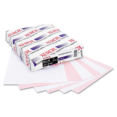 Xerox - Premium Digital Carbonless Paper, 8-1/2 x 11, White/Pink - 2,500 Sets