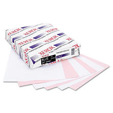 Xerox® Bold Digital Carbonless Paper, 8 1/2 x 11, White/Pink, 5,000 Sheets