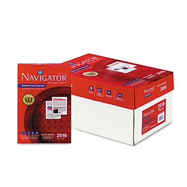Navigator - Premium Multipurpose Paper, 97 Brightness, 11 x 17, White - 2500/Carton