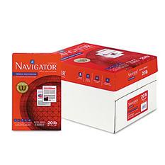 Navigator - Premium Multipurpose Paper, 97 Brightness, 8-1/2x14, White - 5000/Carton