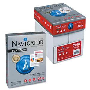 Navigator - Premium Multipurpose Paper, 97 Bright, Letter, White - 200,000 Sheets/Pallet