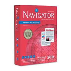 Navigator - Premium Multipurpose Paper, 97 Brightness, 8-1/2x11, White - 5000/Carton