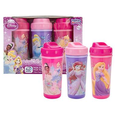 Zak Designs Princess Toddler Cup Set - 3 pk.