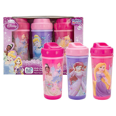 Zak Designs Princess Toddler Cup Set - 3 pk.
