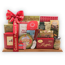 Alder Creek Deluxe Holiday Cutting Board Collection w/Custom Ribbon