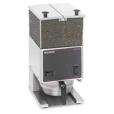 Bunn� Low Profile Grinder Dual Hopper