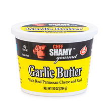 Chef Shamy Gourmet Garlic Butter with Parmesan and Basil (10 oz., 5 ct.)