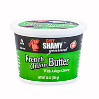 Chef Shamy Gourmet French Onion Butter with Asiago Cheese (10 oz., 5 ct.)