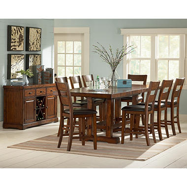 Zappa Counter Height Dining Set - 10 pc.