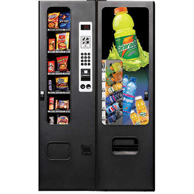 Selectivend Gatorade® 18 Selection Combo Vending Machine