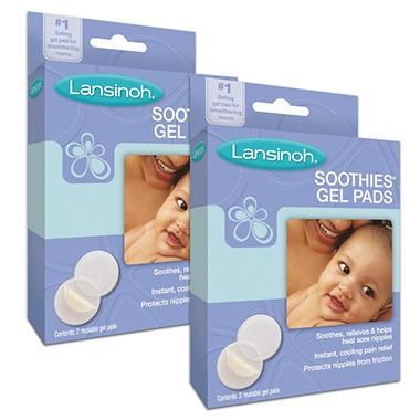 Lansinoh Soothies Gel Pads, 2/2 pks.