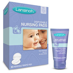 Lansinoh Disposable Nursing Pads and HPA Lanolin