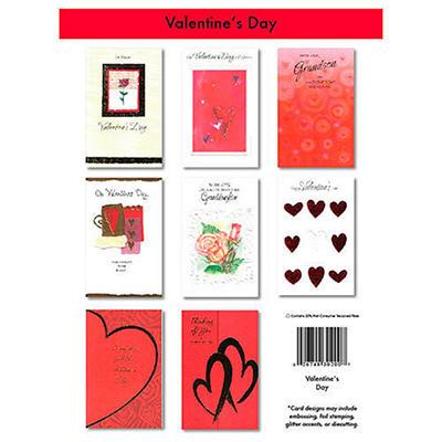 Valentine's Day Greeting Cards - 24/6 pks.