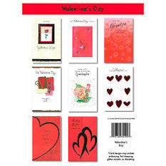 Valentine's Day Greeting Cards - 24/6 pks.