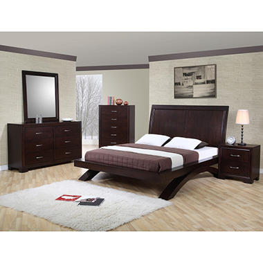 Zoe Bedroom Set - King - 5 pc.