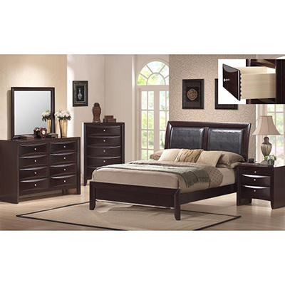 Madison Bedroom Set - Full - 5 pc.