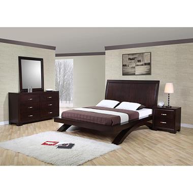 Zoe Bedroom Set - Queen - 4 pc.