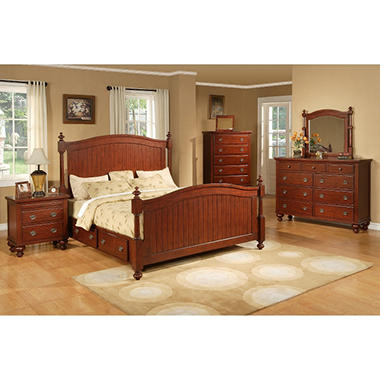 Chancellor Park Bedroom Set King 4 Pc Sam 39 S Club