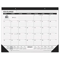 AT-A-GLANCE - Classic Desk Pad, 22 x 17 -  2016