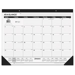 AT-A-GLANCE - Classic Desk Pad, 22 x 17 -  2016